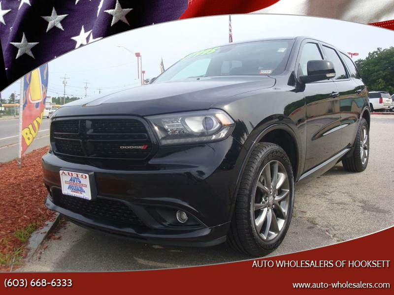 2017 dodge durango gt in hooksett nh auto wholesalers of hooksett. Black Bedroom Furniture Sets. Home Design Ideas
