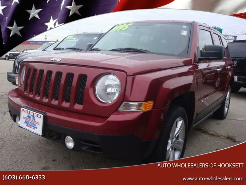 2012 Jeep Patriot For Sale At Auto Wholesalers Of Hooksett In Hooksett NH