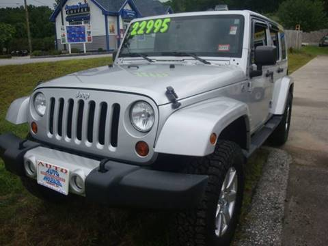 2012 Jeep Wrangler Unlimited for sale in Hooksett, NH