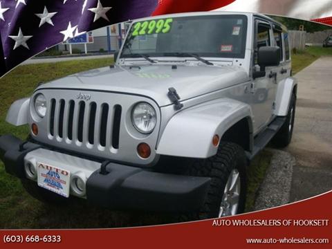 2012 jeep wrangler for sale in new hampshire. Black Bedroom Furniture Sets. Home Design Ideas