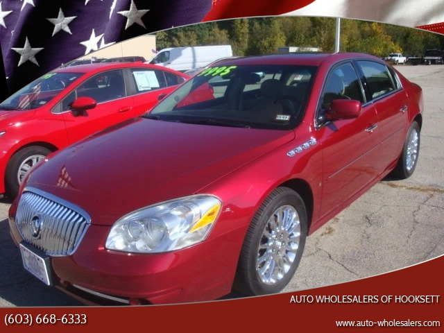 2009 buick lucerne super in hooksett nh auto wholesalers of hooksett Buick Lacerne 2009 buick lucerne for sale at auto wholesalers of hooksett in hooksett nh