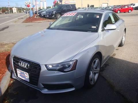 2013 Audi A5 for sale in Hooksett, NH