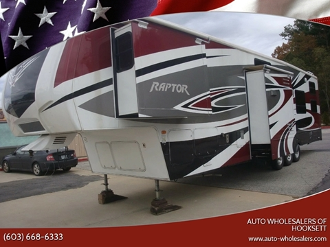2010 Keystone RAPTOR 3912 for sale in Hooksett, NH