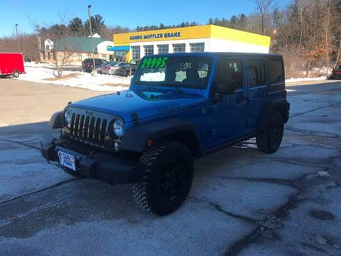 2015 Jeep Wrangler Unlimited for sale in Hooksett, NH