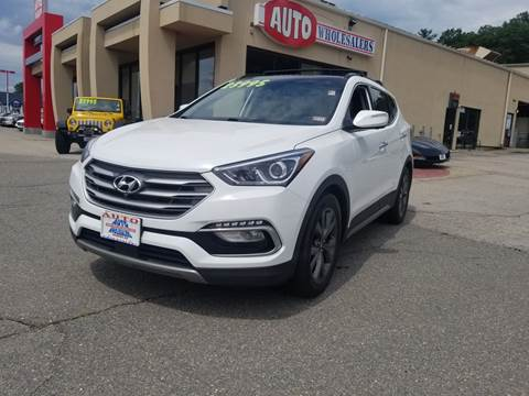 2017 Hyundai Santa Fe Sport for sale at Auto Wholesalers Of Hooksett in Hooksett NH