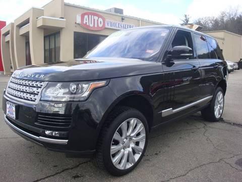 2015 Land Rover Range Rover for sale in Hooksett, NH