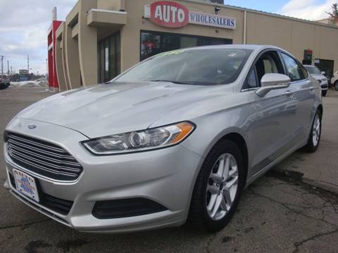 2016 Ford Fusion for sale in Hooksett, NH