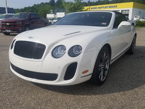 2012 Bentley Continental for sale at Auto Wholesalers Of Hooksett in Hooksett NH