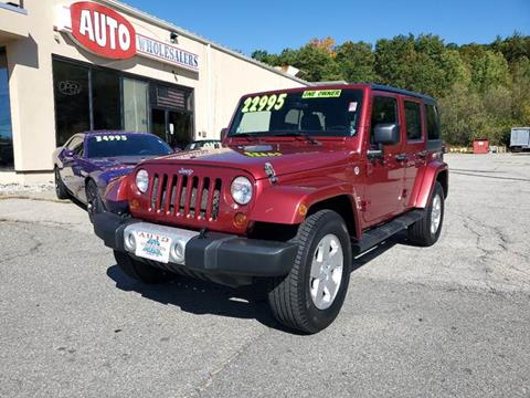 2012 Jeep Wrangler Unlimited for sale in Hooksett, NH