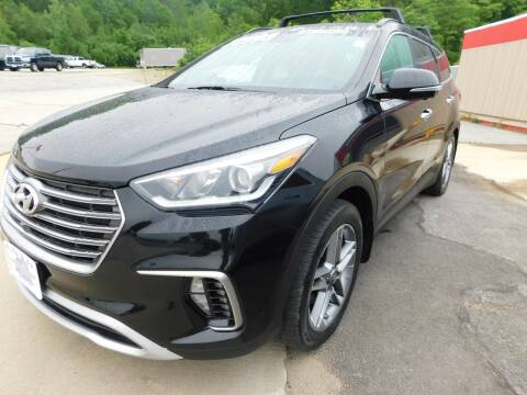 2017 Hyundai Santa Fe for sale at Auto Wholesalers Of Hooksett in Hooksett NH