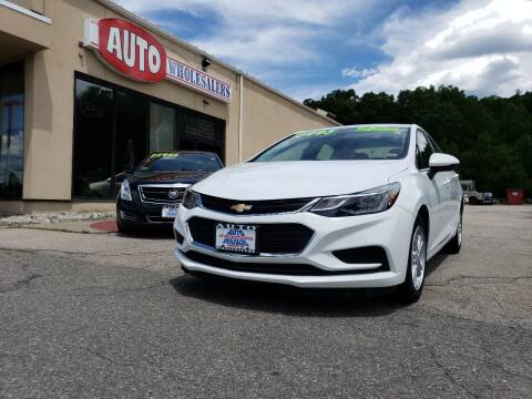 2018 Chevrolet Cruze for sale at Auto Wholesalers Of Hooksett in Hooksett NH