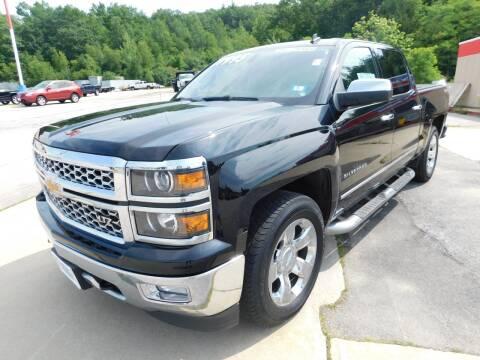 2014 Chevrolet Silverado 1500 for sale at Auto Wholesalers Of Hooksett in Hooksett NH