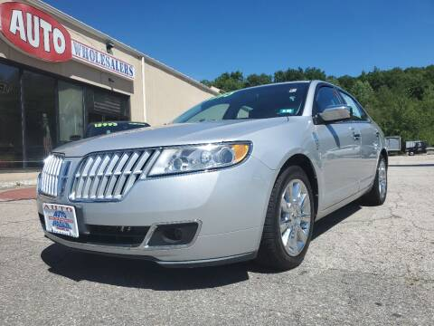 2010 Lincoln MKZ for sale at Auto Wholesalers Of Hooksett in Hooksett NH