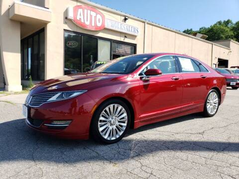 2016 Lincoln MKZ for sale at Auto Wholesalers Of Hooksett in Hooksett NH
