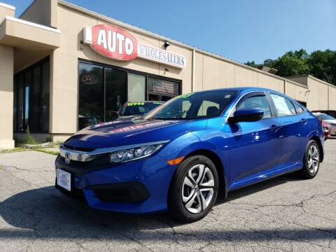 2018 Honda Civic for sale at Auto Wholesalers Of Hooksett in Hooksett NH