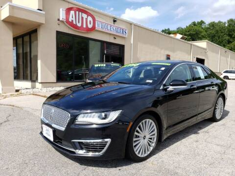 2017 Lincoln MKZ for sale at Auto Wholesalers Of Hooksett in Hooksett NH