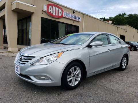 2013 Hyundai Sonata for sale at Auto Wholesalers Of Hooksett in Hooksett NH