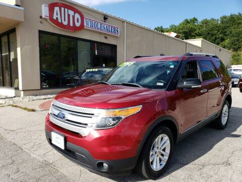 2013 Ford Explorer for sale at Auto Wholesalers Of Hooksett in Hooksett NH