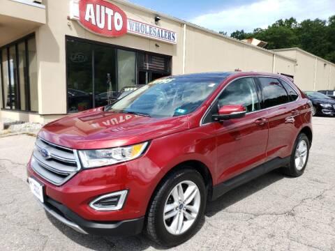 2018 Ford Edge for sale at Auto Wholesalers Of Hooksett in Hooksett NH