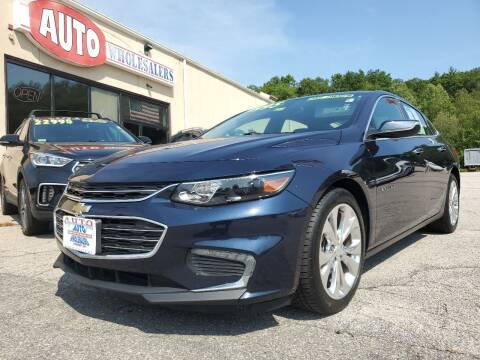 2017 Chevrolet Malibu for sale at Auto Wholesalers Of Hooksett in Hooksett NH