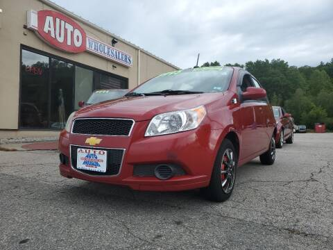 2010 Chevrolet Aveo for sale at Auto Wholesalers Of Hooksett in Hooksett NH