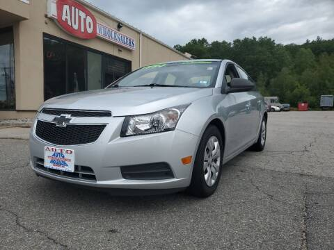2014 Chevrolet Cruze for sale at Auto Wholesalers Of Hooksett in Hooksett NH