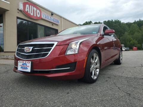 2015 Cadillac ATS for sale at Auto Wholesalers Of Hooksett in Hooksett NH