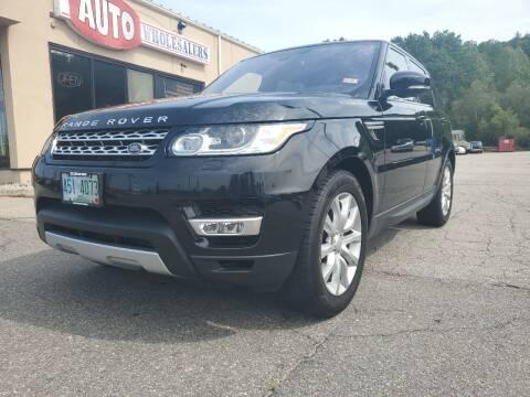 2016 Land Rover Range Rover Sport for sale at Auto Wholesalers Of Hooksett in Hooksett NH