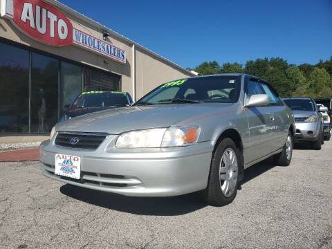2000 Toyota Camry for sale at Auto Wholesalers Of Hooksett in Hooksett NH