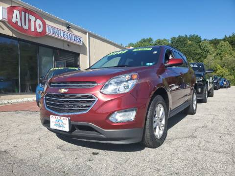 2016 Chevrolet Equinox for sale at Auto Wholesalers Of Hooksett in Hooksett NH