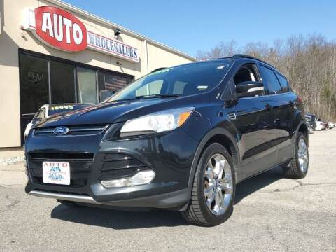 2013 Ford Escape for sale at Auto Wholesalers Of Hooksett in Hooksett NH