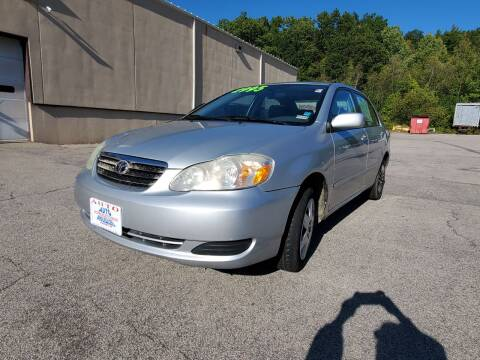 2005 Toyota Corolla for sale at Auto Wholesalers Of Hooksett in Hooksett NH