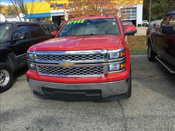 2015 Chevrolet Silverado 1500 for sale in Hooksett, NH