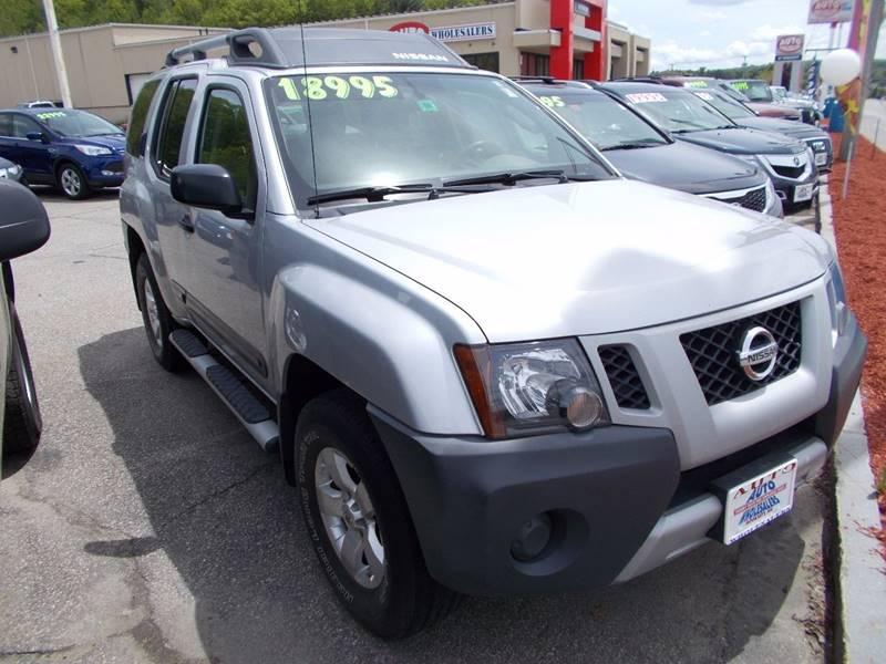2012 Nissan Xterra for sale at Auto Wholesalers Of Hooksett in Hooksett NH
