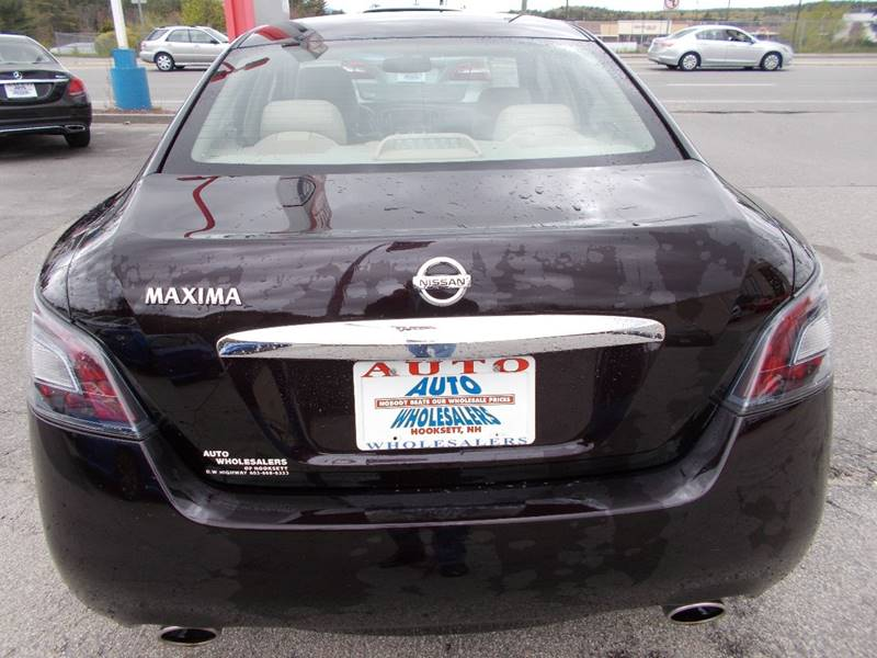 2013 Nissan Maxima for sale at Auto Wholesalers Of Hooksett in Hooksett NH