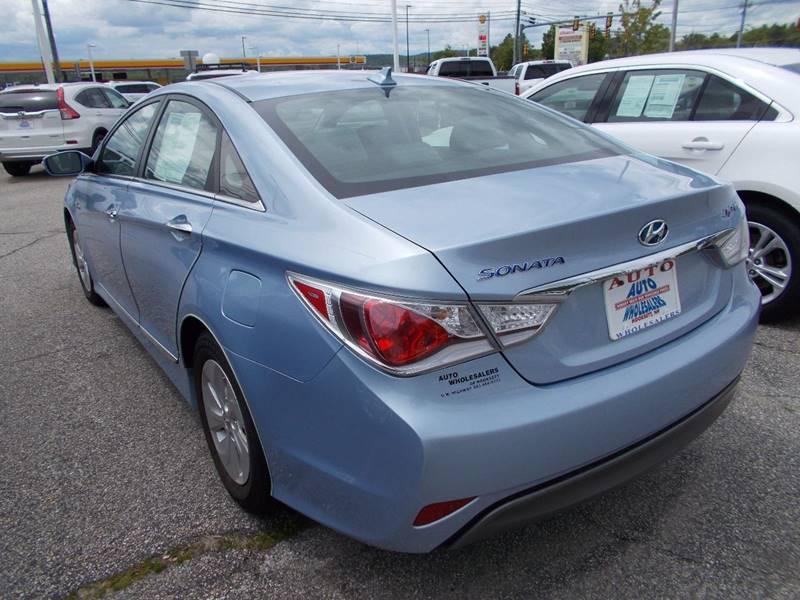 2013 Hyundai Sonata Hybrid for sale at Auto Wholesalers Of Hooksett in Hooksett NH