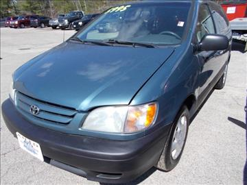 2001 Toyota Sienna for sale at Auto Wholesalers Of Hooksett in Hooksett NH
