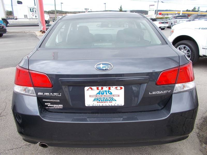 2012 Subaru Legacy for sale at Auto Wholesalers Of Hooksett in Hooksett NH