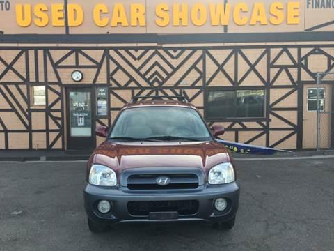 2005 Hyundai Santa Fe for sale at Used Car Showcase in Phoenix AZ