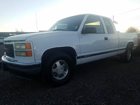 1998 GMC Sierra 1500 for sale at Used Car Showcase in Phoenix AZ