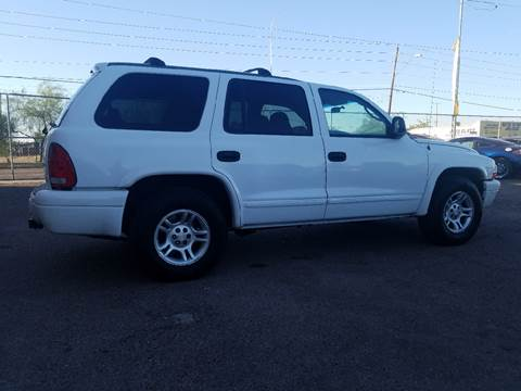 2003 Dodge Durango for sale at Used Car Showcase in Phoenix AZ