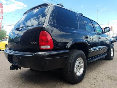 1999 Dodge Durango for sale at Used Car Showcase in Phoenix AZ
