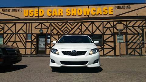 2010 Toyota Corolla for sale at Used Car Showcase in Phoenix AZ