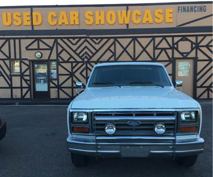 1983 Ford F-150 for sale at Used Car Showcase in Phoenix AZ