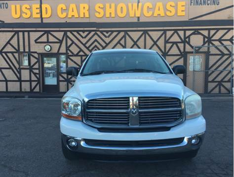 2006 Dodge Ram Pickup 1500 for sale at Used Car Showcase in Phoenix AZ