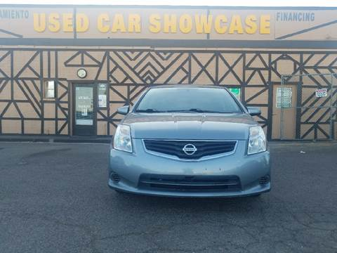 2012 Nissan Sentra for sale at Used Car Showcase in Phoenix AZ
