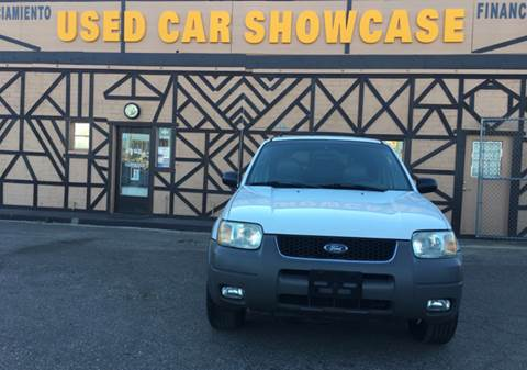 2002 Ford Escape for sale at Used Car Showcase in Phoenix AZ