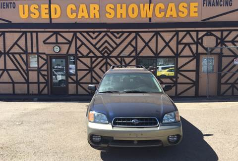 2003 Subaru Outback for sale at Used Car Showcase in Phoenix AZ
