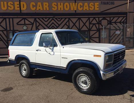 1983 Ford Bronco for sale at Used Car Showcase in Phoenix AZ