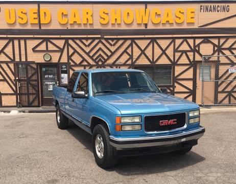 1995 GMC Sierra 1500 for sale at Used Car Showcase in Phoenix AZ